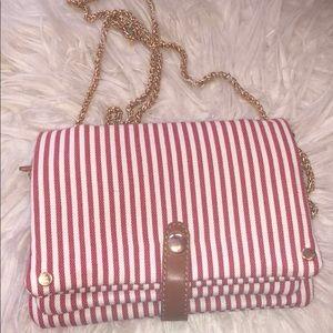 Handbags - Stripe Bag! Super cute